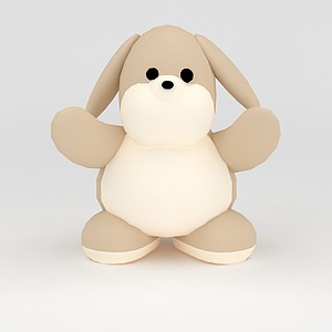 3d玩偶<font class='myIsRed'>儿童玩具</font>小狗模型