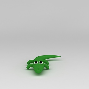 3d<font class='myIsRed'>儿童玩具</font>玩偶蜥蜴模型