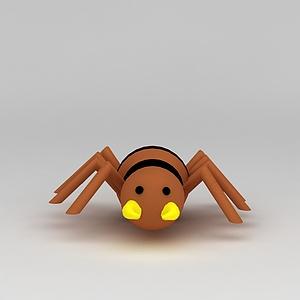 3d<font class='myIsRed'>儿童玩具</font>玩偶蜘蛛模型