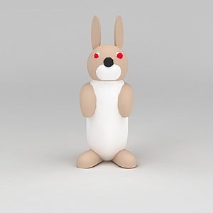 3d<font class='myIsRed'>儿童玩具</font>玩偶兔子模型