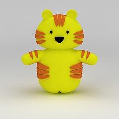 儿童玩具玩偶小花猫3D模型3d模型