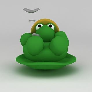 儿童玩具玩偶乌龟3d模型