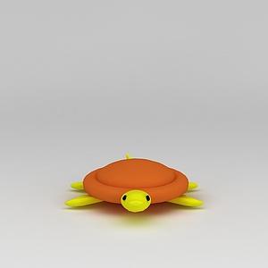 3d<font class='myIsRed'>儿童玩具</font>玩偶乌龟模型