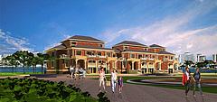 欧式别墅房屋建筑模型3d模型
