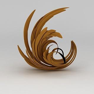 商业小品雕塑品3d模型
