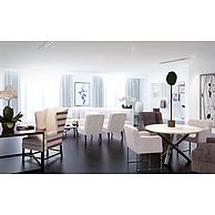 现代餐厅沙发椅子组合3D模型3d模型