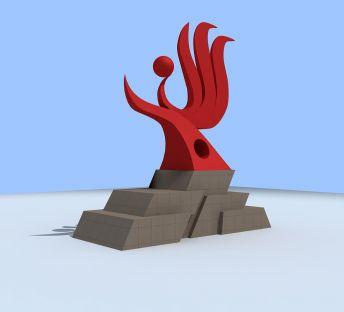 建筑标志雕塑