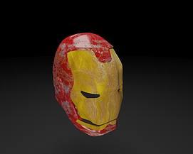 钢铁侠头盔面具模型