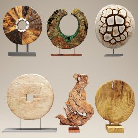 石头雕刻摆件陈设饰品3d模型