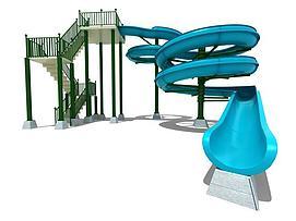水上乐园儿童乐园模型