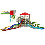 儿童乐园水上乐园3D模型3d模型