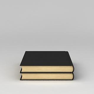 书籍词典3d模型3d模型