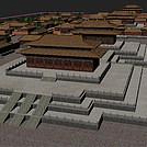 故宫紫禁城模型