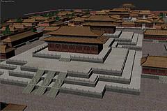 故宫紫禁城模型3d模型