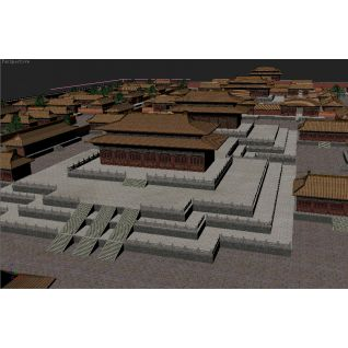 故宫紫禁城3d模型