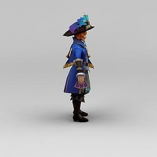 LOL游戏人物3d模型3d模型