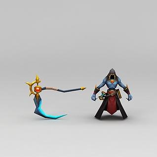 游戏怪兽角色素材3d模型