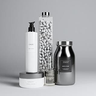 现代浴室用品3d模型