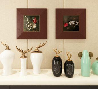 新中式时尚创意陶瓷摆件