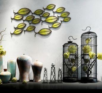 新中式创意花瓶摆件