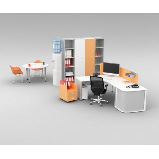 公司办公室桌椅家具3d模型