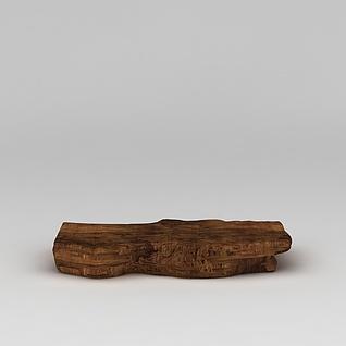 沉香木3d模型3d模型