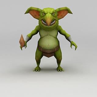手游怪物3d模型3d模型