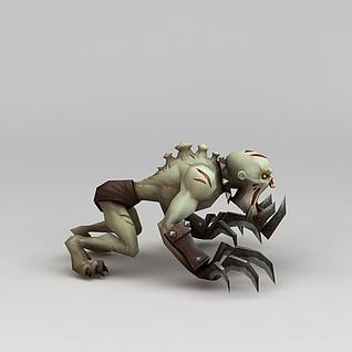 召唤师联盟怪兽角色3d模型