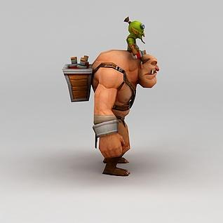 召唤师联盟游戏角色3d模型