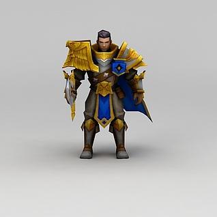 召唤师联盟帝国之力游戏角色3d模型