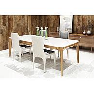 现代时尚餐桌椅组合3D模型3d模型