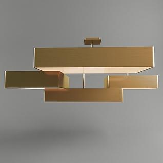 创意简约吊灯3d模型