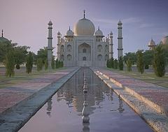 3D印度泰姬陵模型