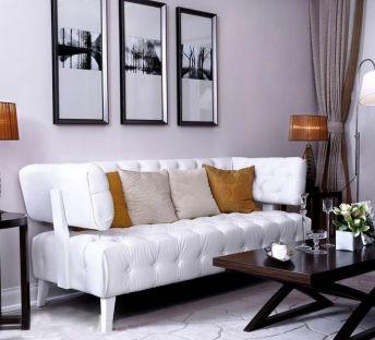 北欧时尚休闲沙发茶几组合