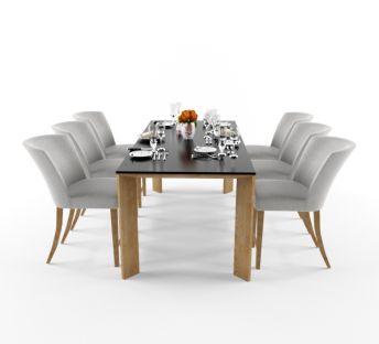 北欧时尚简约餐桌椅组合