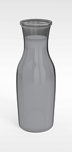 3d现代玻璃<font class='myIsRed'>水瓶</font>模型