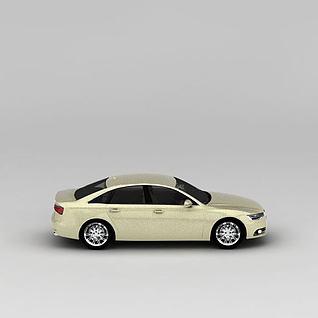 羚羊米奥迪A6汽车3d模型