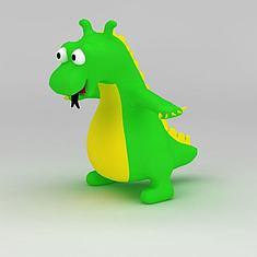 儿童玩具恐龙3D模型3d模型