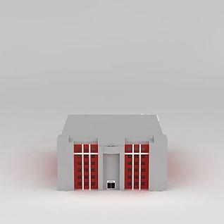 现代购物商场3d模型