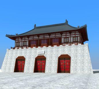 中国古城楼