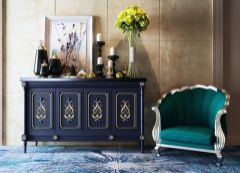 现代客厅沙发边柜陈设品组合模型3d模型