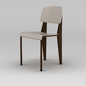 3d北欧时尚简约餐椅模型