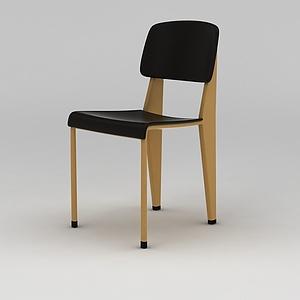 3d北欧简约?#30340;?#39184;椅模型