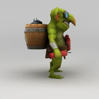 召唤师联盟游戏怪兽3d模型3d模型