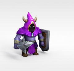 召唤师联盟游戏角色模型3d模型