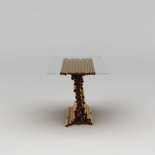 现代创意餐桌3d模型