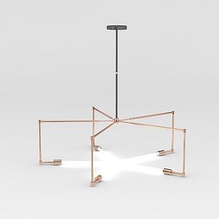 现代创意简约吊灯3d模型3d模型