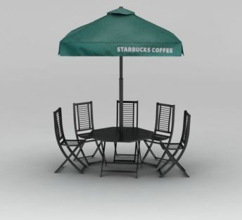 户外露天庭院伞