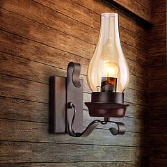 美式复古工业风壁灯模型3d模型