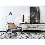 客厅沙发椅边柜组合3D模型3d模型